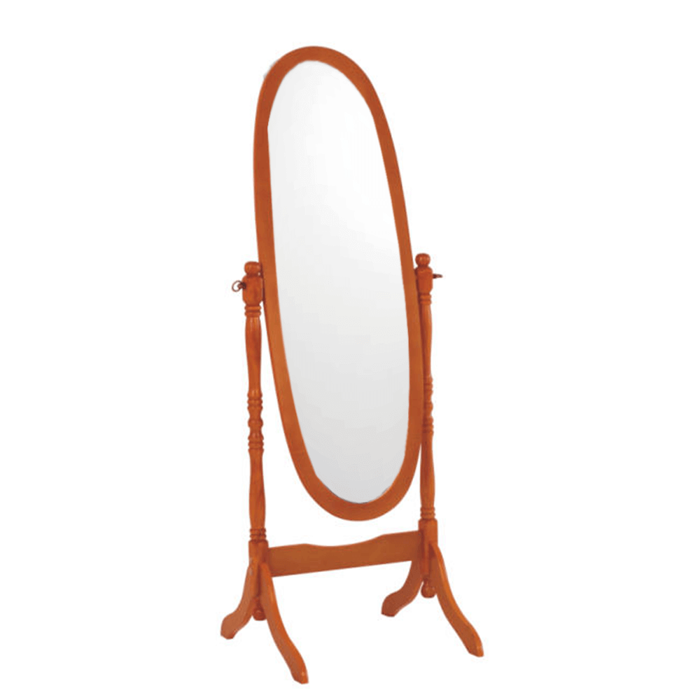 Stojanové zrcadlo, třešeň, ZRCADLO 20124, TEMPO KONDELA