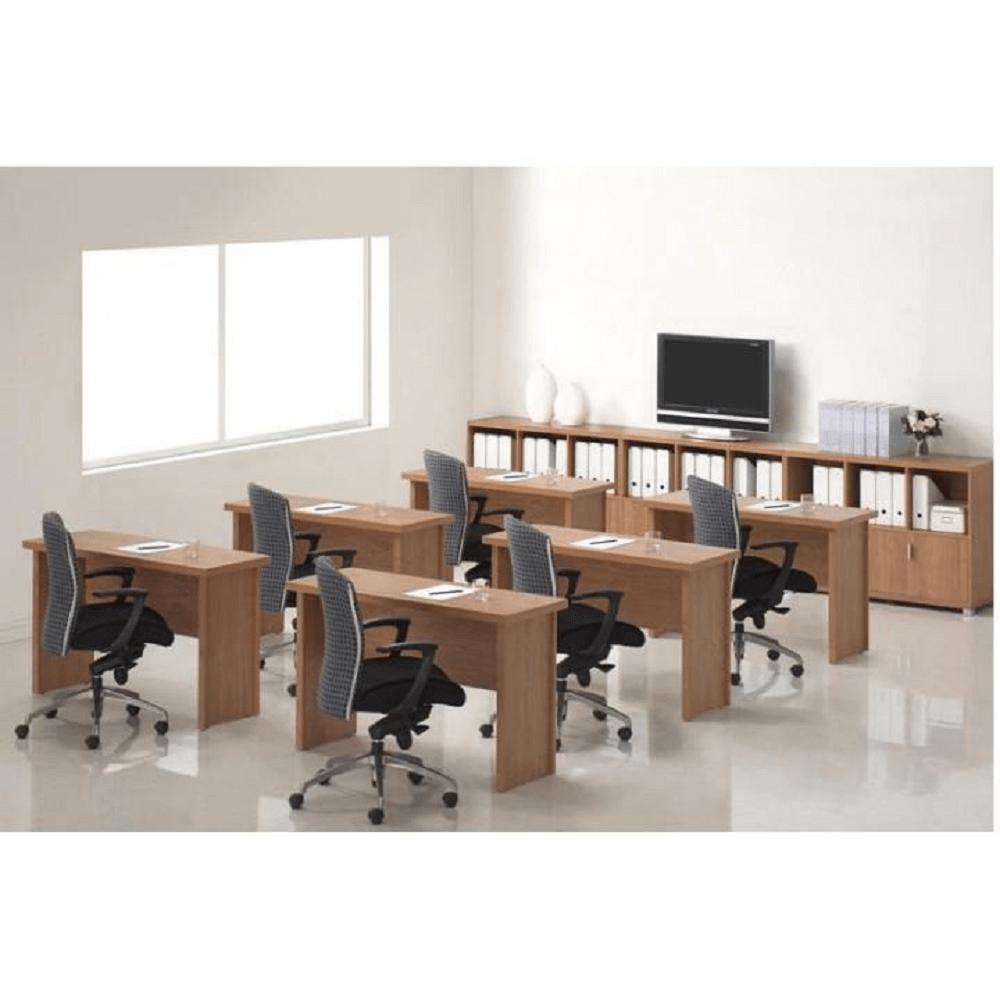 Rohový oblúkový stôl, čerešňa americká, OSCAR T5