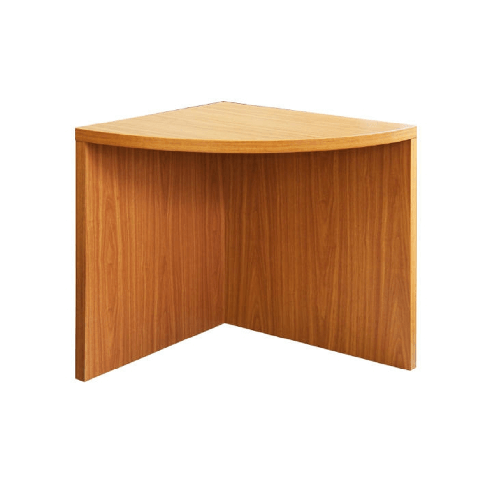 Rohový obloukový stůl, třešeň americká, OSCAR T5, TEMPO KONDELA