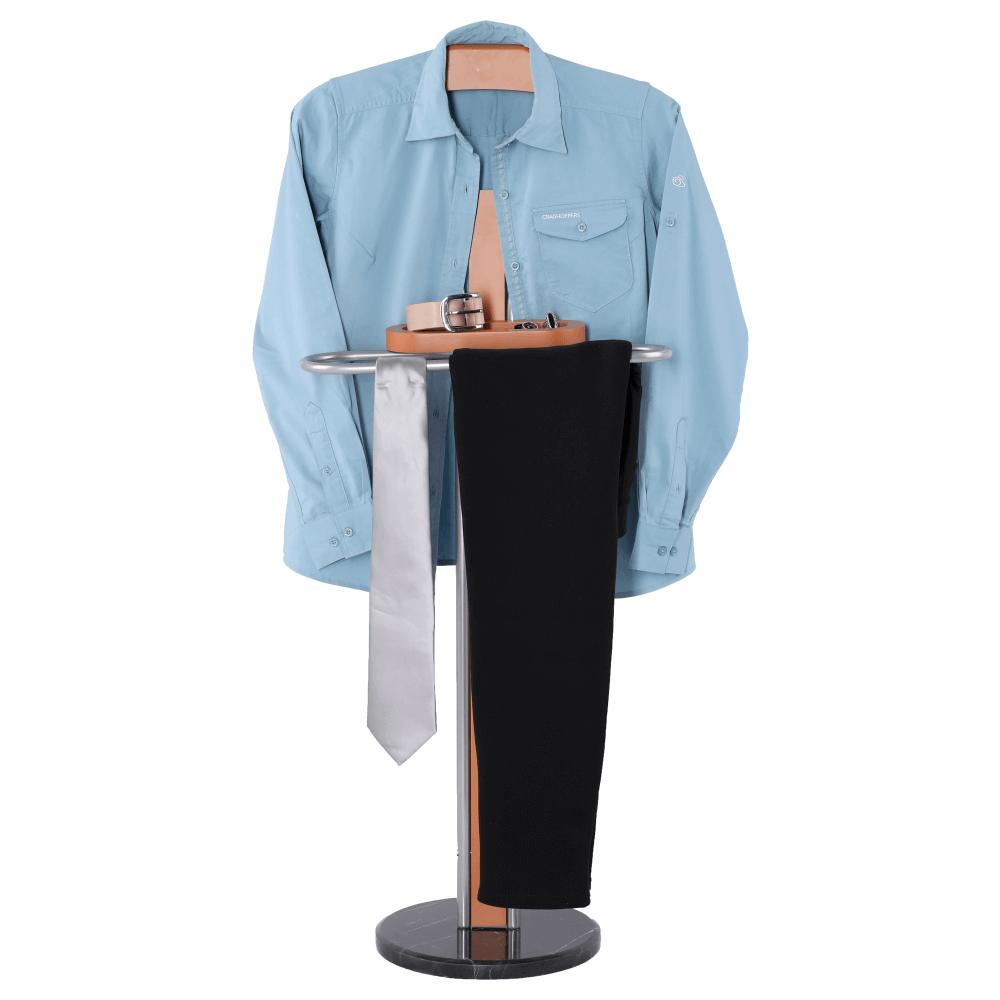 Suport pentru haine Luke Argintiu/Fag