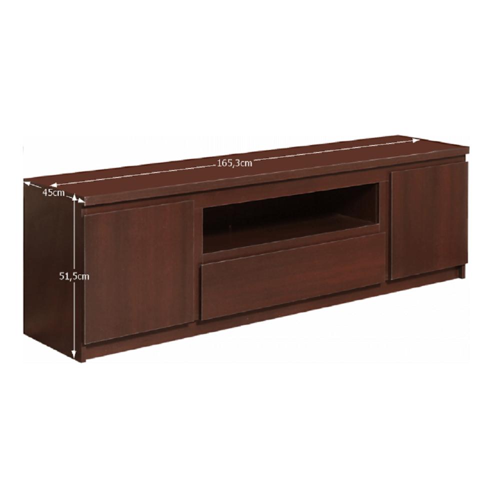 Comodă TV/dulap, pin lareto, PELLO TIPUL 50