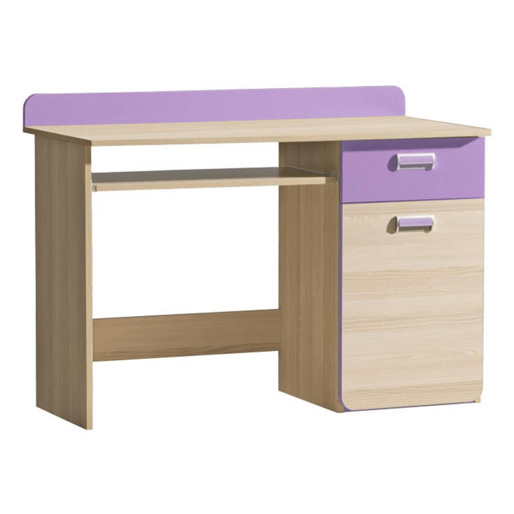 Masă PC, frasin/violet, EGO L10