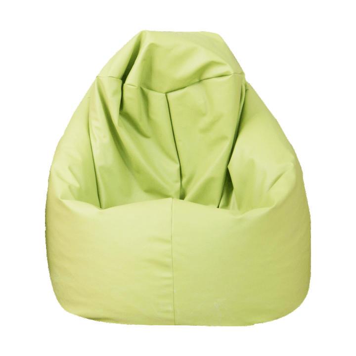 TEMPO KONDELA Sedací vak, zelená ekokoža, BAG VAK - Tempo nábytek