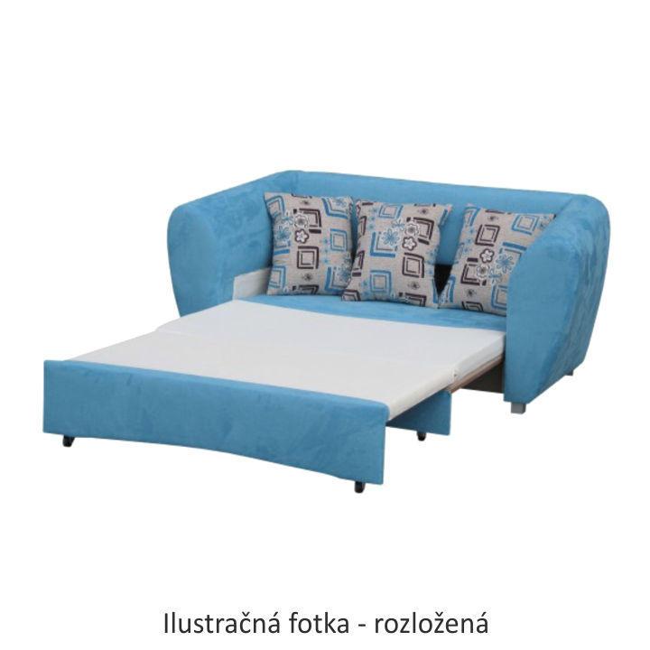 TEMPO KONDELA Rozkladacia pohovka, biela, ASPEN - Tempo nábytek