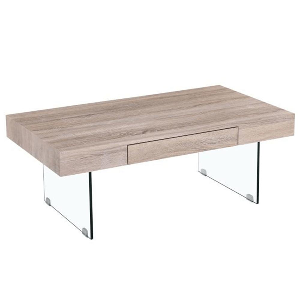 Konferenční stolek, dub sonoma, DAISY NEW
