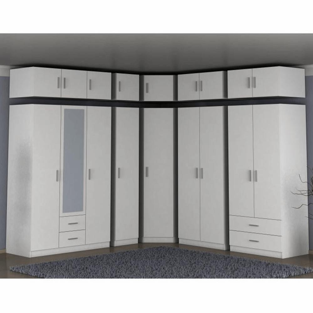 Felsőszekrény szekrényhez, fehér, INVITA TYP 6