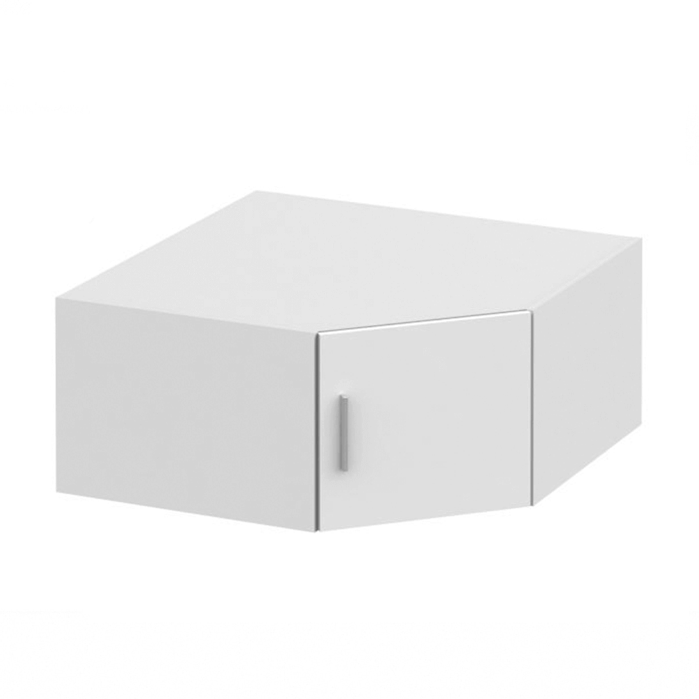 Nástavec na skříň, bílá, INVITA  TYP 8, TEMPO KONDELA