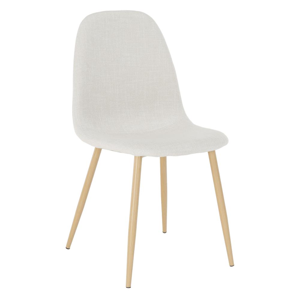 Židle, krémová látka / buk, LEGA, TEMPO KONDELA