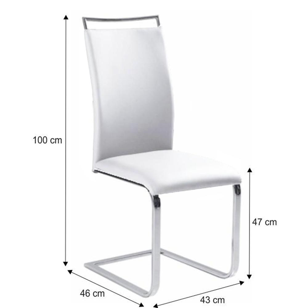 Jídelní židle, bílá, BARNA NEW, TEMPO KONDELA
