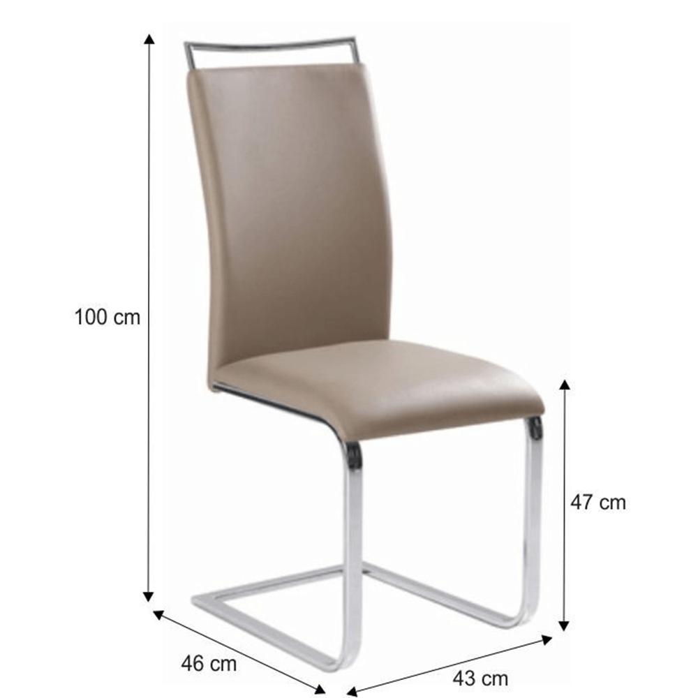 Jídelní židle, světle hnědá,  BARNA NEW, TEMPO KONDELA