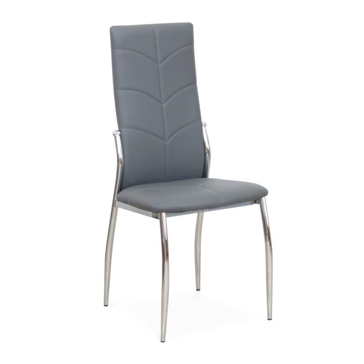 szék, szurke  + króm, MALISATYP 2 TC-1693 PU