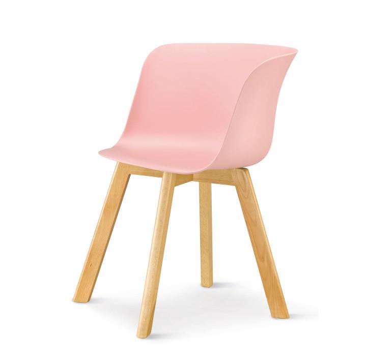 modern design szék, rózsaszín, LEVIN 1656