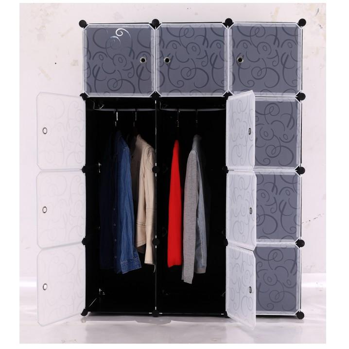 Praktikus ruhatároló, műanyag+fém, ADEM  1 TÍPUS