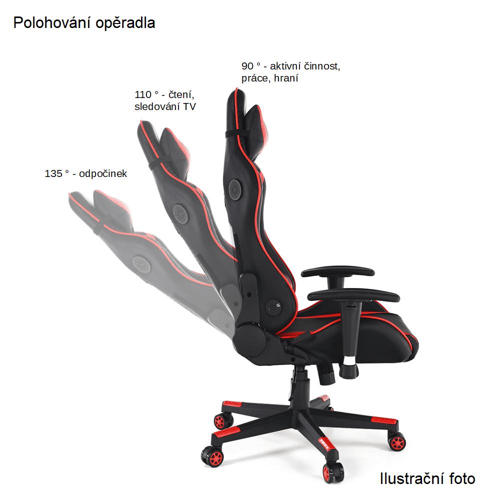 Kancelářská židle, černá síťka / černá, SIDRO, TEMPO KONDELA