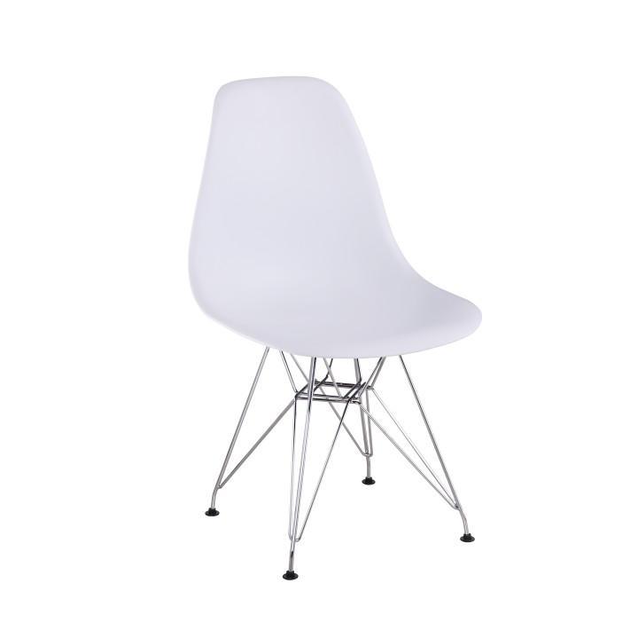Stolička, biela, ANISA NEW
