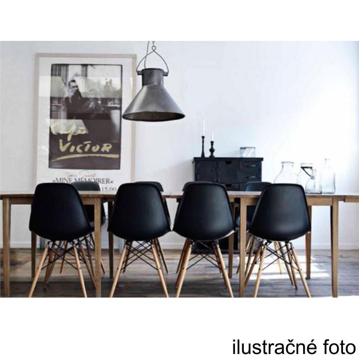 Stolička, čierna/buk, CINKLA 2 NEW