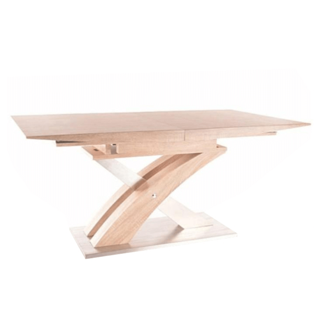 Jedálenský stôl, dub sonoma, BONET