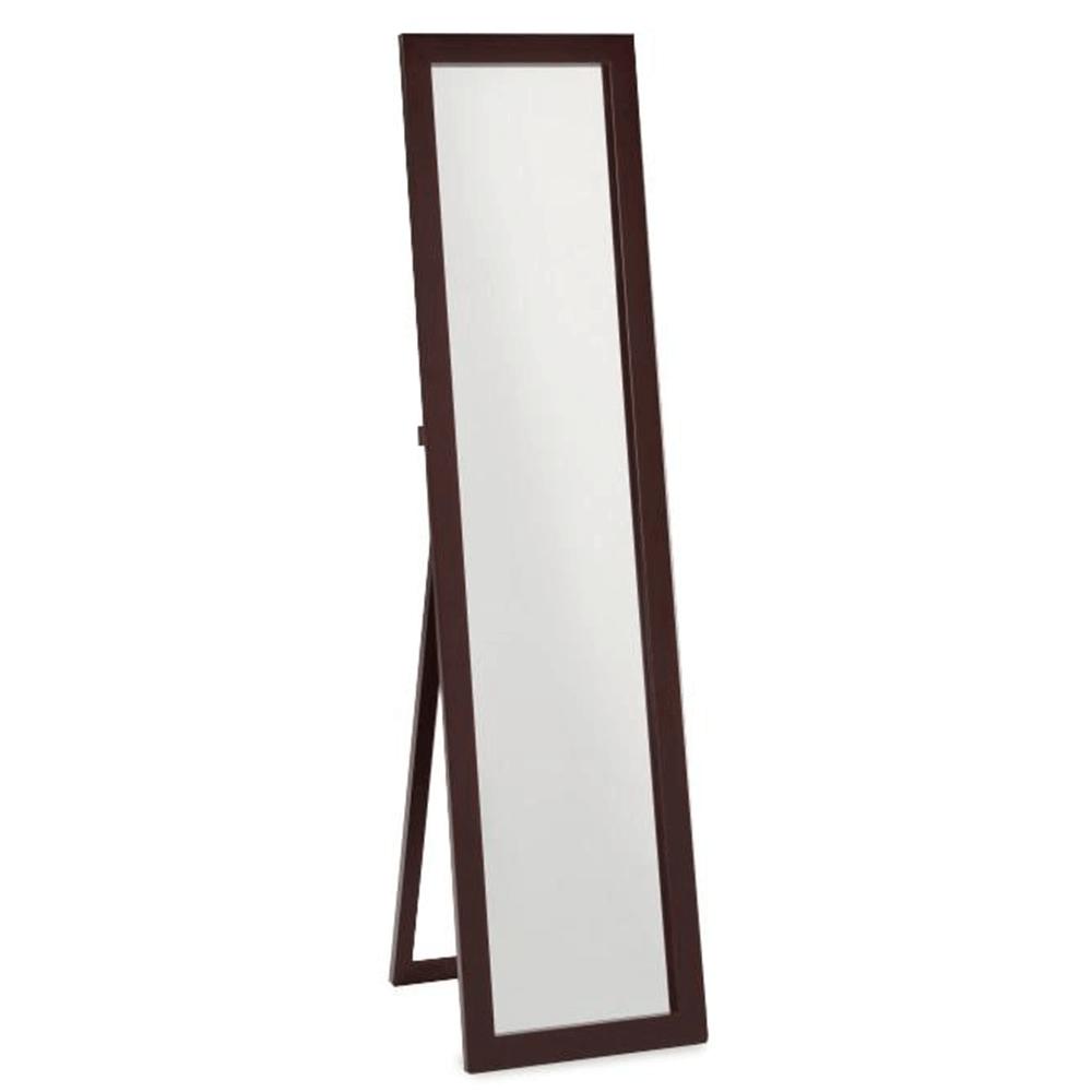 Zrcadlo, stojanové, cappucino, AIDA NEW, TEMPO KONDELA
