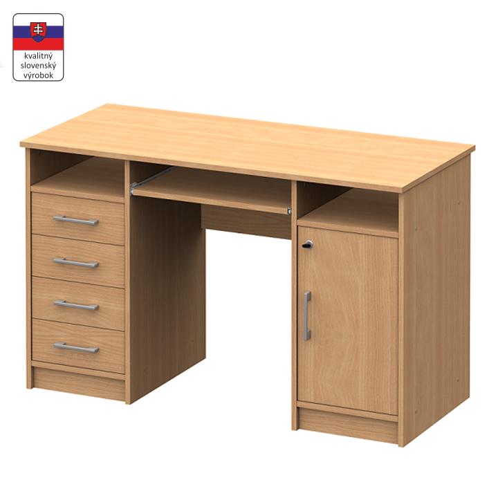 PC stôl, buk, B9 NEW