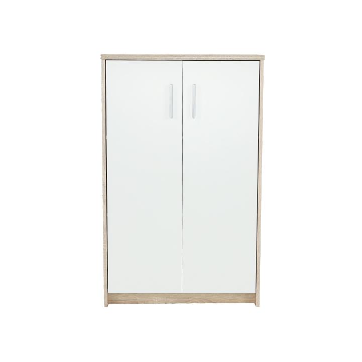 Kancelárska skrinka, dub sonoma/biela, JOHAN NEW 13