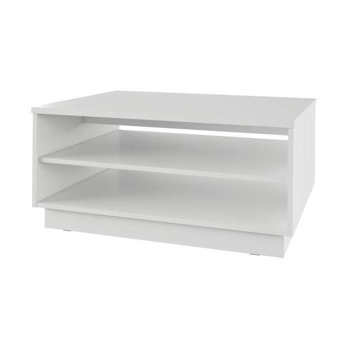 Dohányzóasztal, fehér, VAVRO NEW 01