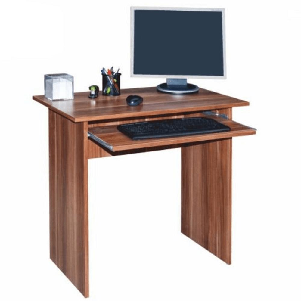 masă PC, prun, VERNER NEW