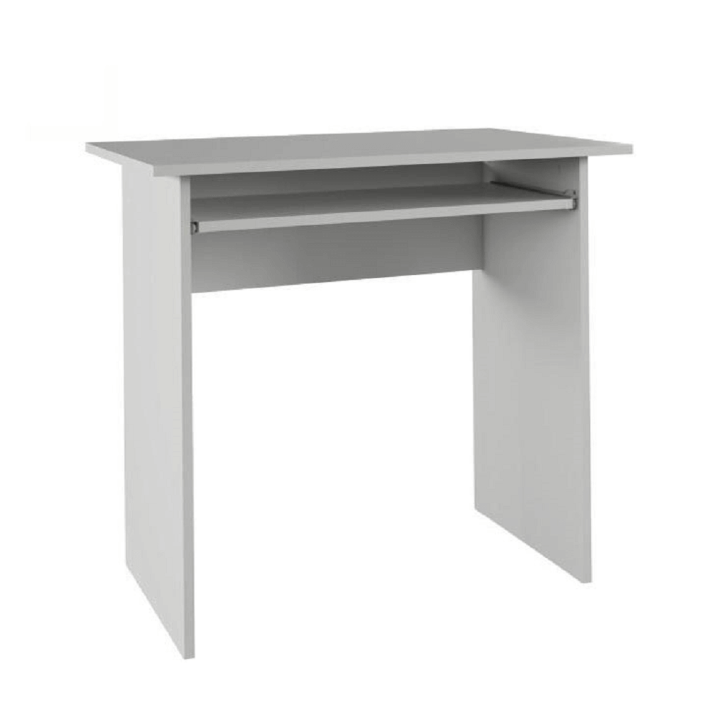 masă PC, alb, VERNER NEW