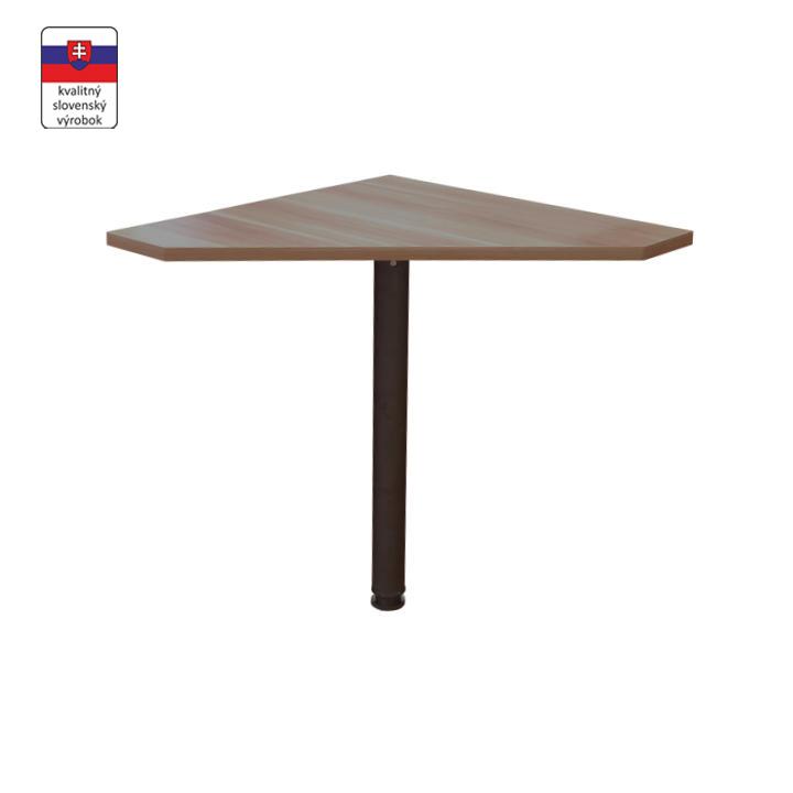 Rohový stolík, slivka/kov, JOHAN NEW 06