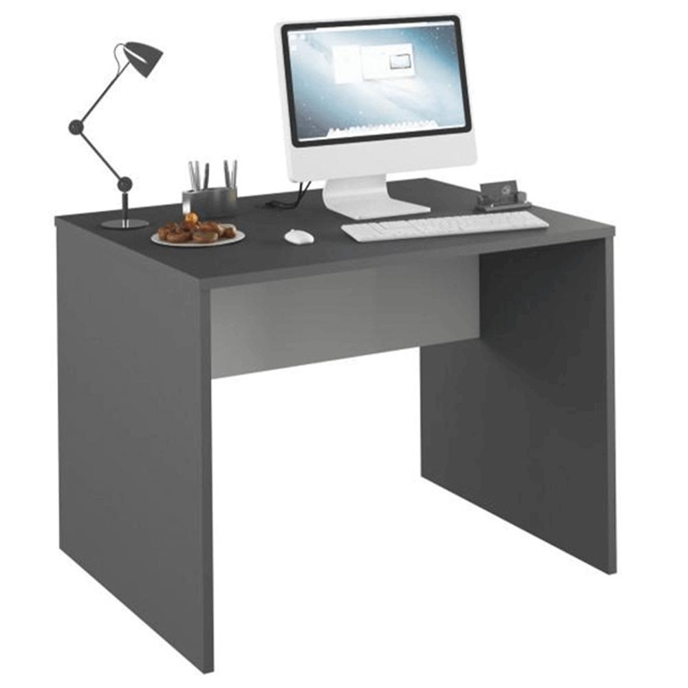 Masă de birou, grafit/alb, RIOMA NEW TYP 12
