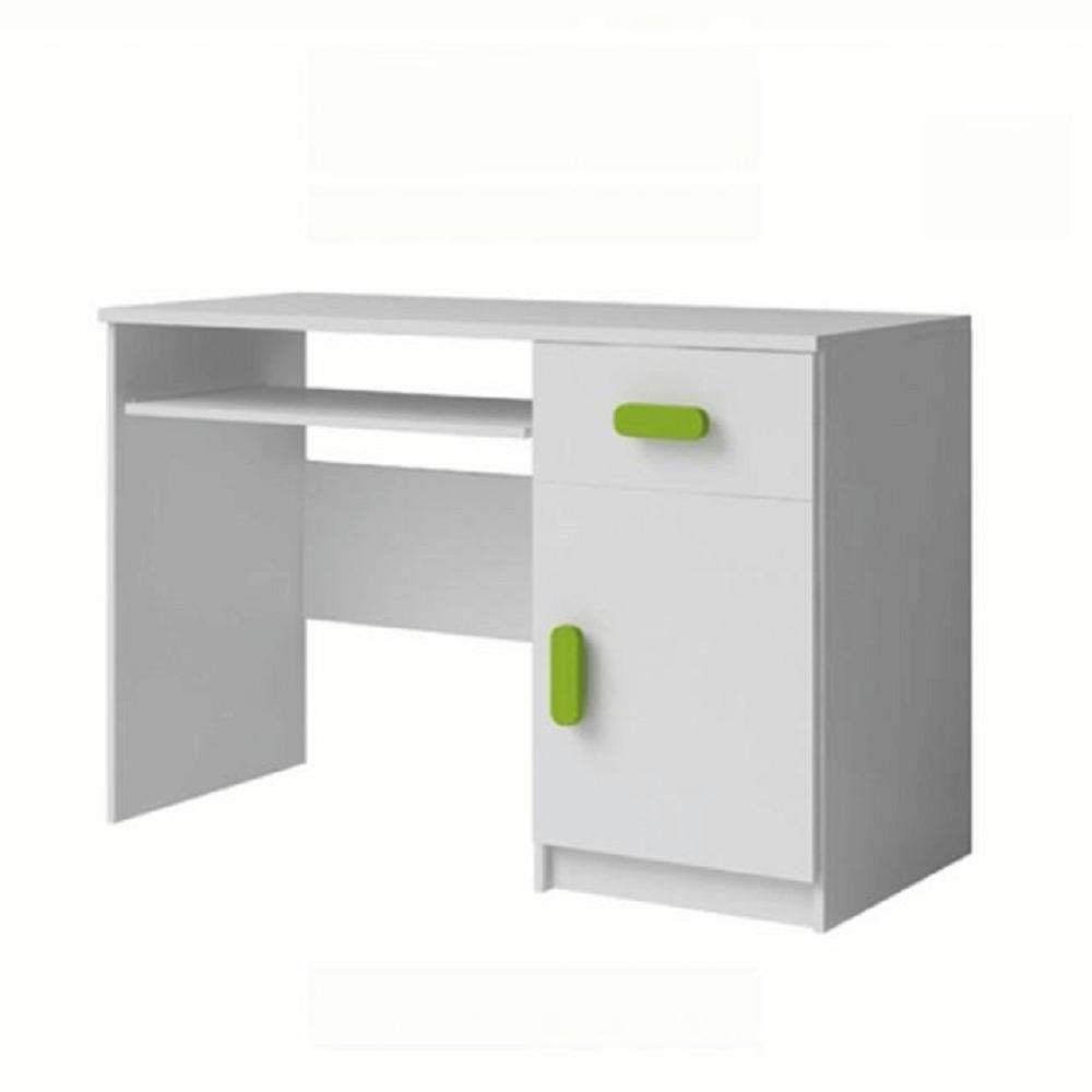 PC stůl, bez úchytek, bílá, SVEND TYP 8