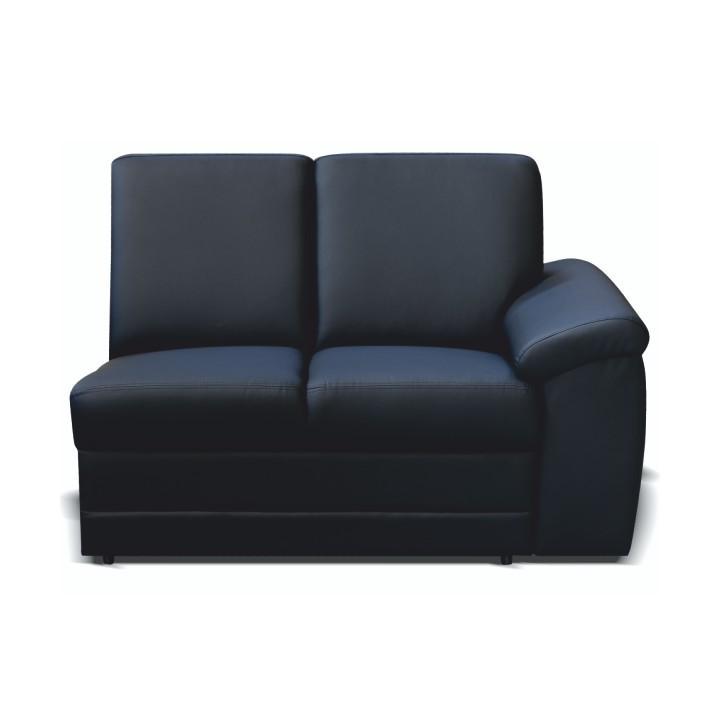 2-es ülés, fekete textilbőr, csak megrendelésre, BITER 2 1B jobbos