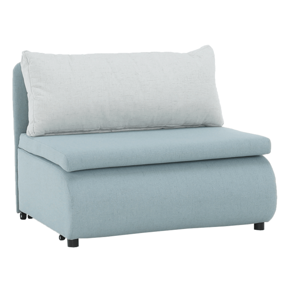 Kinyitható fotel, menta/krémes színű KENY NEW