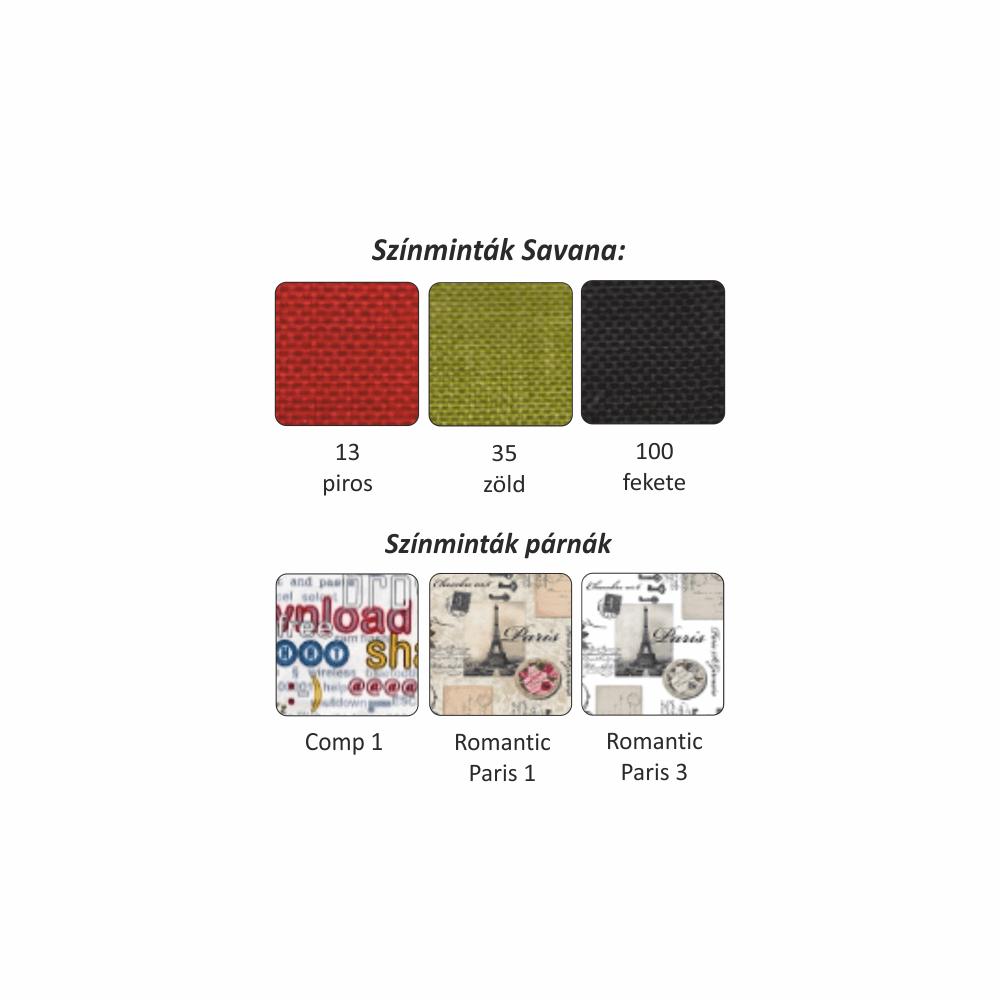 Modern fotel ágyfunkcióval és ágyneműtartóval,cablo 10 mentol/krémszín  01, KENY NEW R
