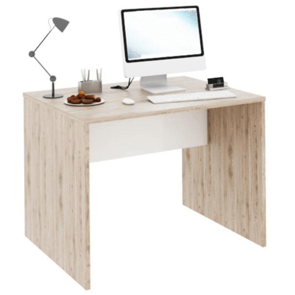 PC stůl, san remo / bílá, RIOMA TYP 12, TEMPO KONDELA