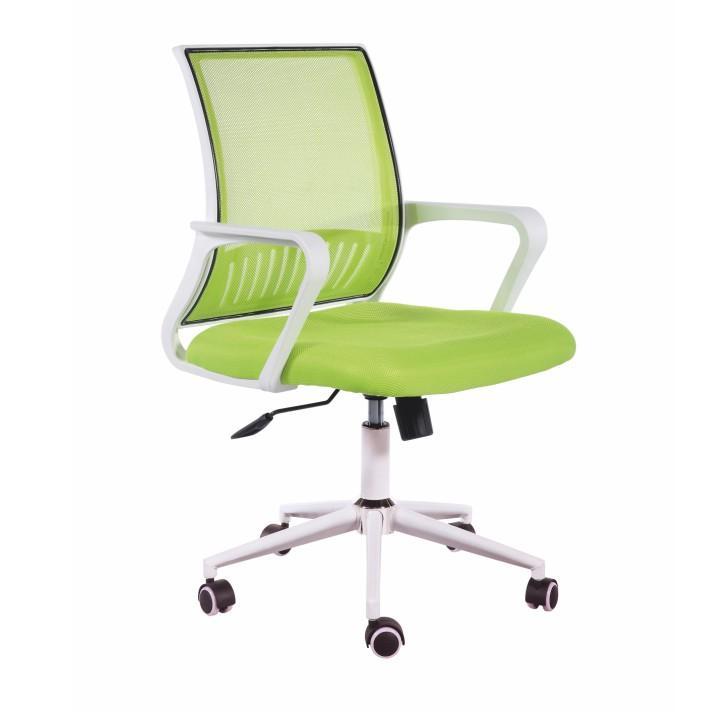 irodai szék, hálózöld + fehér, PALION