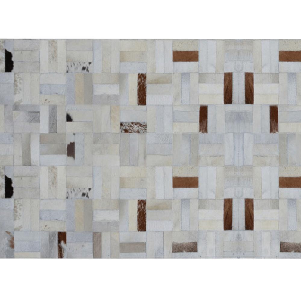 Luxusní koberec, pravá kůže, 170x240, KOŽA TYP 1, TEMPO KONDELA
