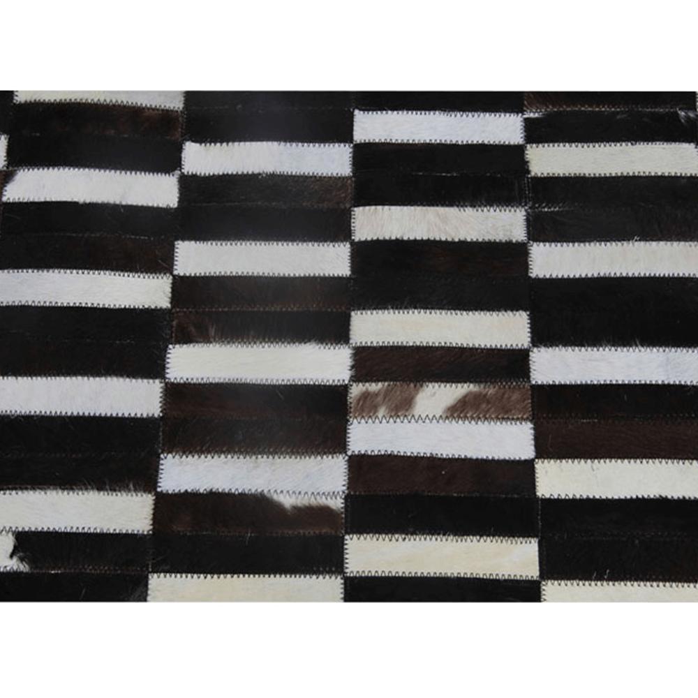 Luxusní koberec, pravá kůže, 141x200, KŮŽE TYP 6, TEMPO KONDELA