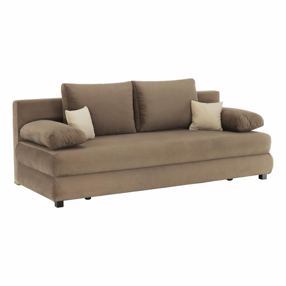 Colțar extensibil, textil capuccino/bej, CLIV
