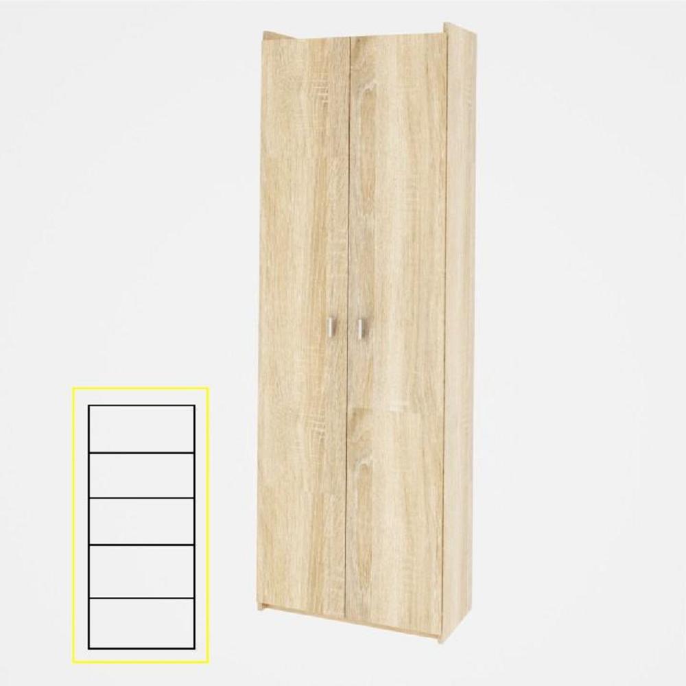Praktikus polcos szekrény, sonoma tölgy, NATALI TYP 2