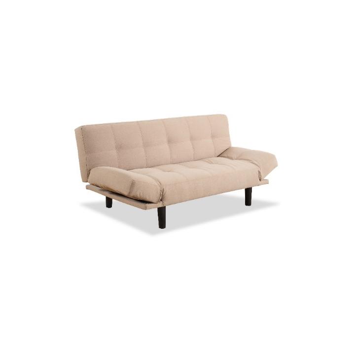 FLYTO kanapé állítható karokkal, bézs / fekete
