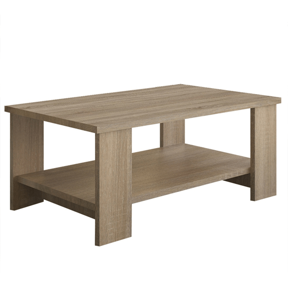 Konferenční stolek, dub sonoma, BERNARDO, TEMPO KONDELA