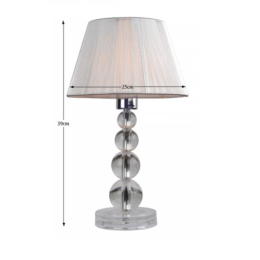 CINDA TYP 14 modern állólámpa, ezüst