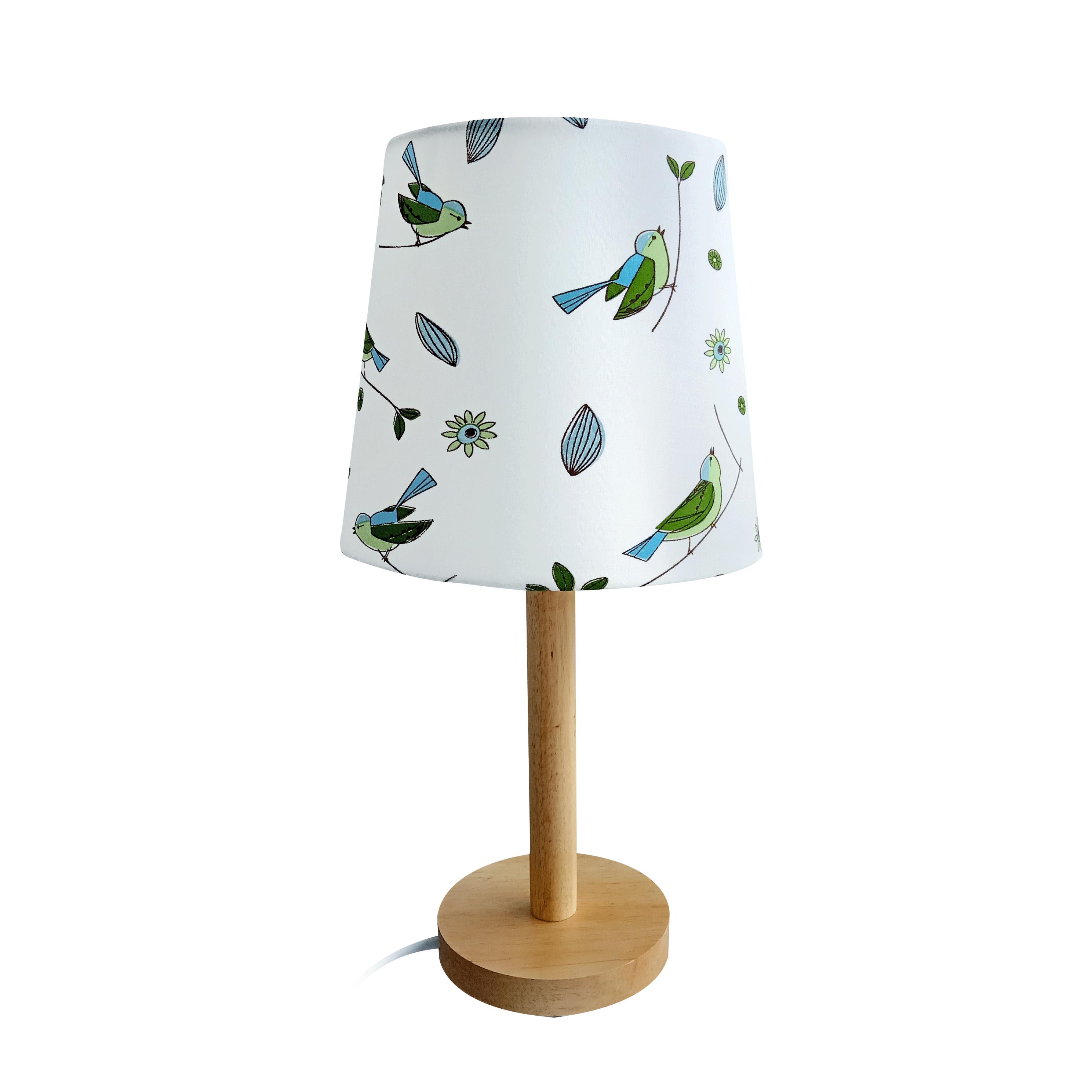 Lampă pe picior, lemn/material model pasăre, QENNY TYP 7 LT6026