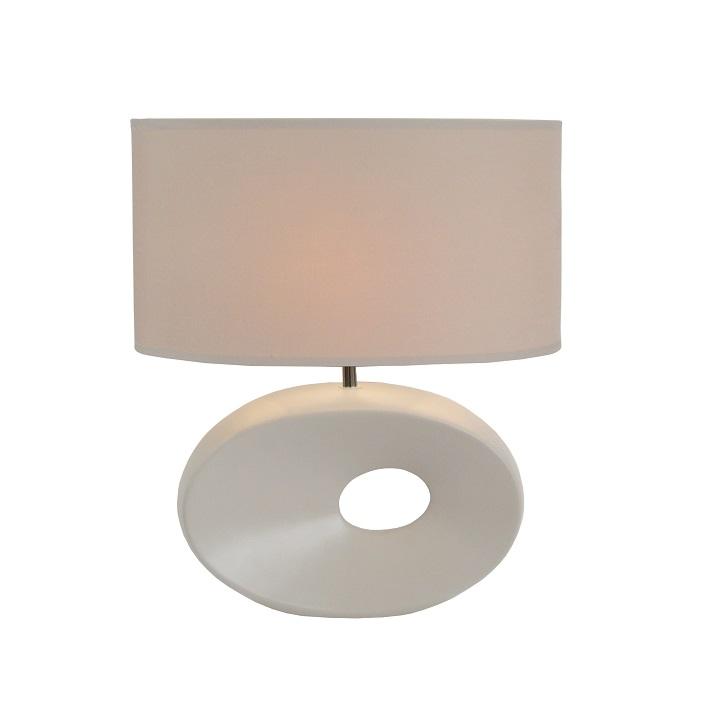 QENNY TYP 9 fehér  asztali  lámpa