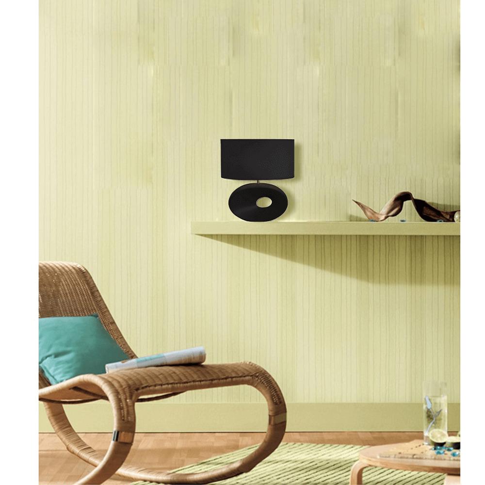 QENNY TYP 10 Asztali lámpa   Kivitelezés: fekete talpazattal ,fekete textil burával