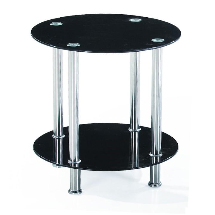 VADIM kisasztal, fekete