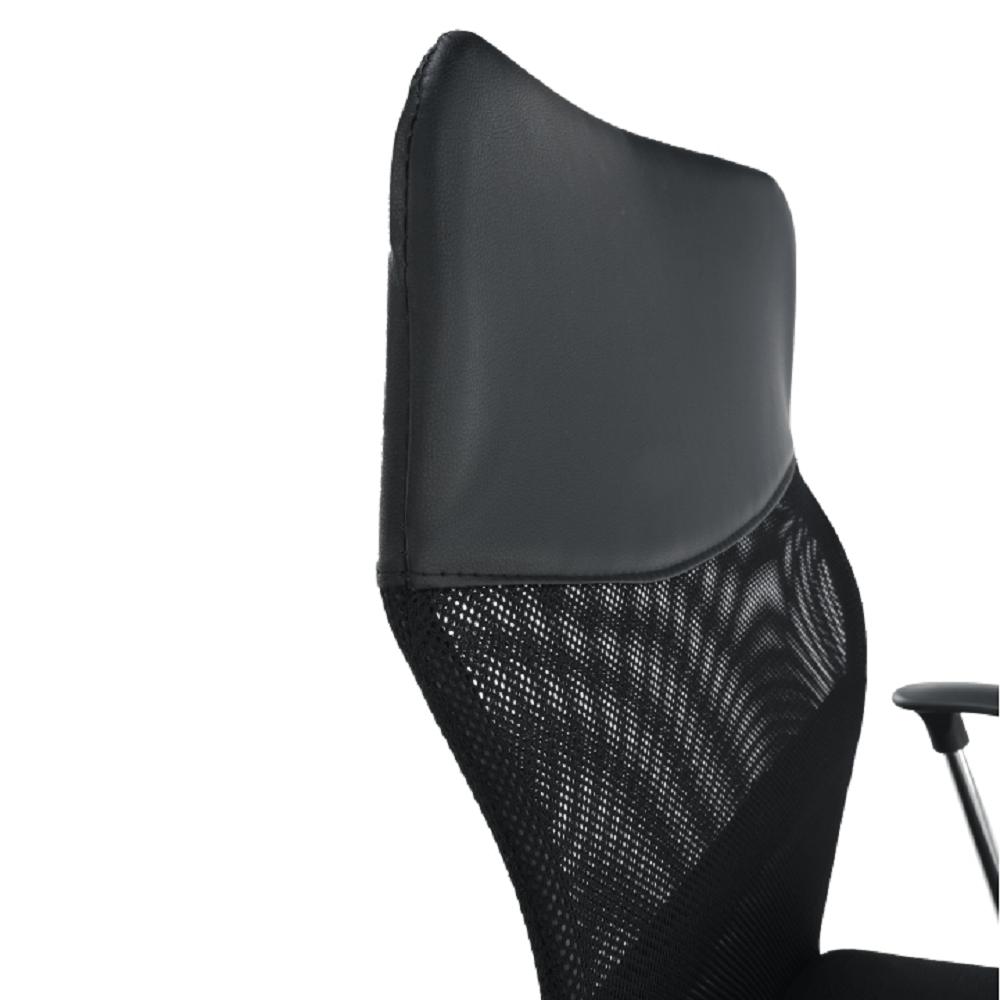 Irodai szék, fekete textilbőr, TC3-973M