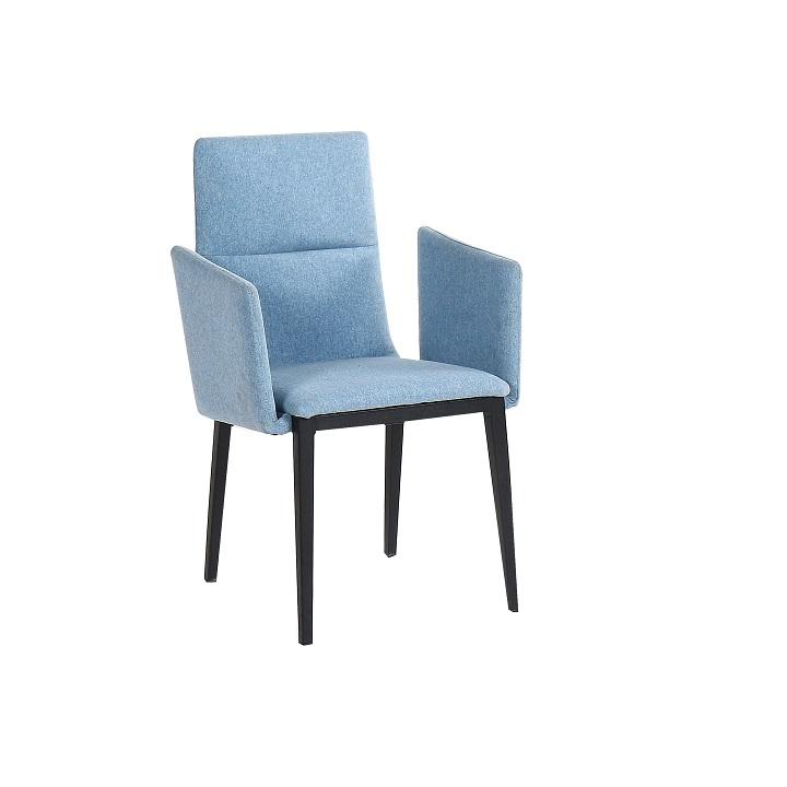 Jedálenská stolička, sivá/čierna, JENNER