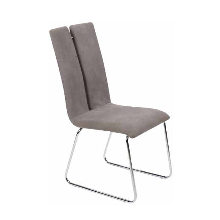 Jídelní židle, šedá, MERT