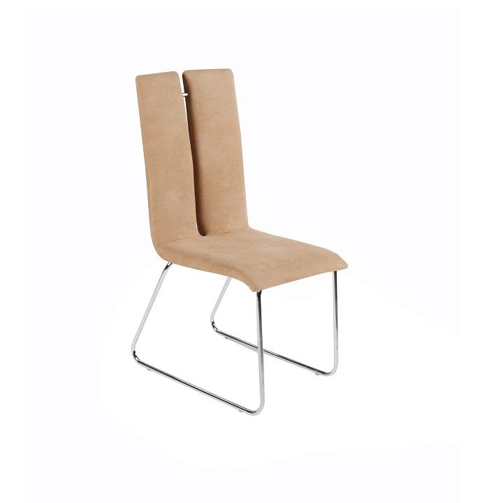 Jedálenská stolička, béžová, MERT